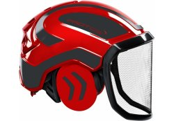 Casque Protos Integral Forest PFANNER (Rouge et Gris)