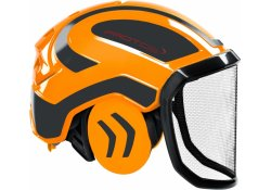 Casque Protos Integral Forest PFANNER (Orange et Gris)