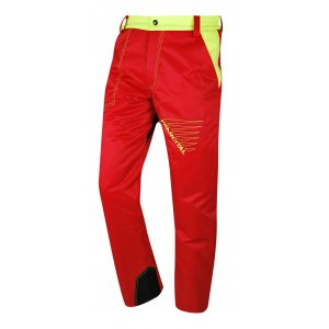Pantalon PRIOR rouge
