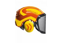 Casque Protos Integral Forest PFANNER Orange et Jaune