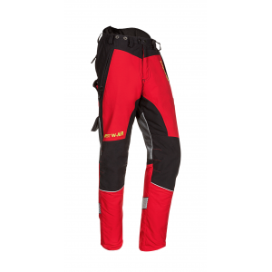 Pantalon Anti Coupure Classe 1 - Forest W-Air Rouge SIP PROTECTION