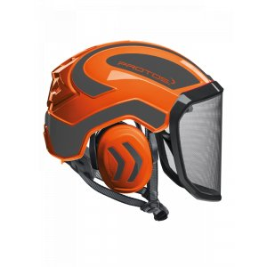 Casque Protos Integral Arborist / Orange et Gris