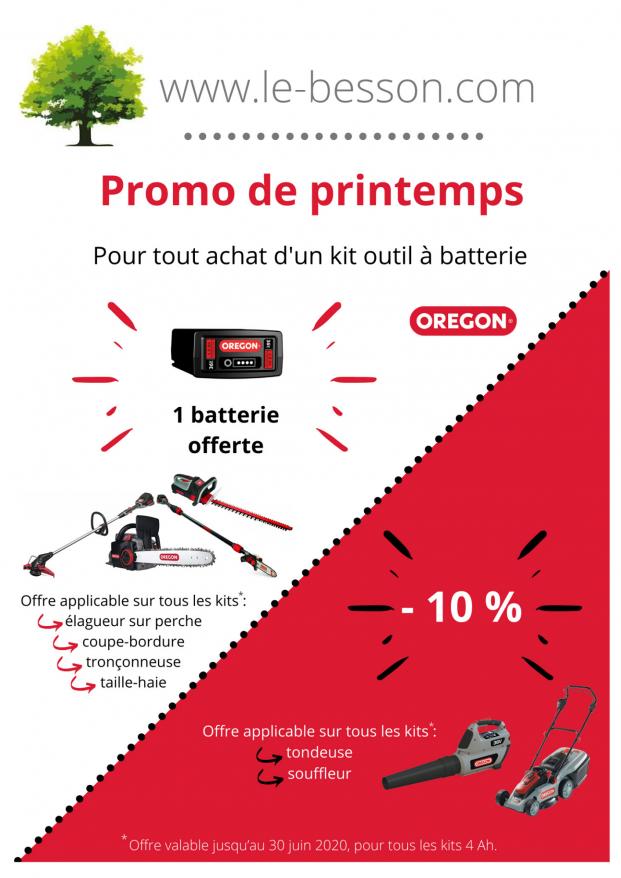 Kit à Batterie Oregon [Printemps 2020]